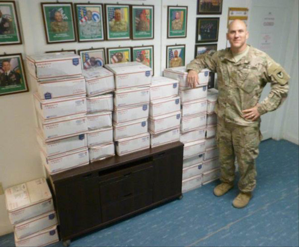 Care Packages Received